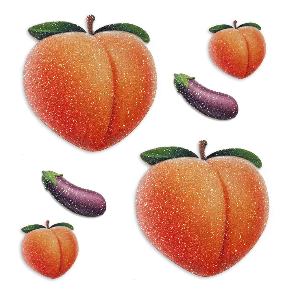 Glitz Nips Peach Delight Pasties