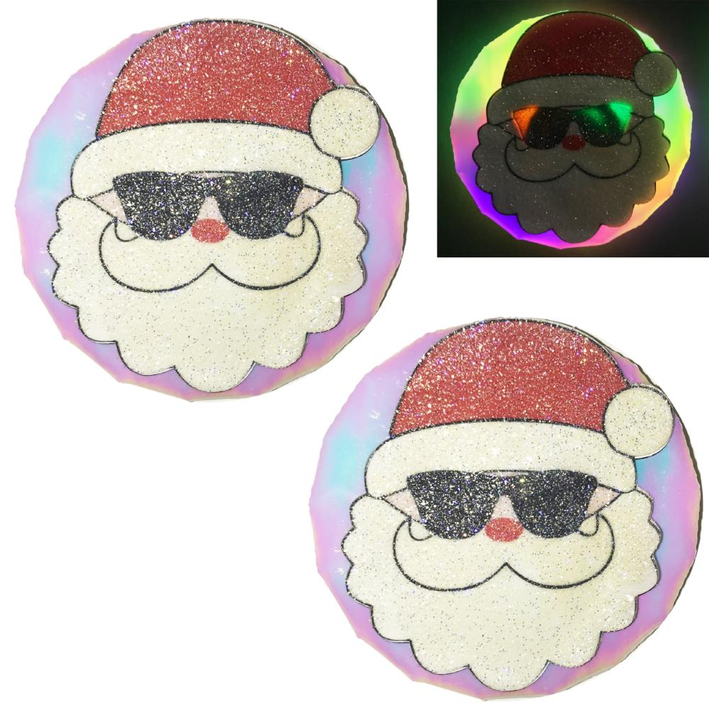 Santa LED light-up pasties by Sasswear