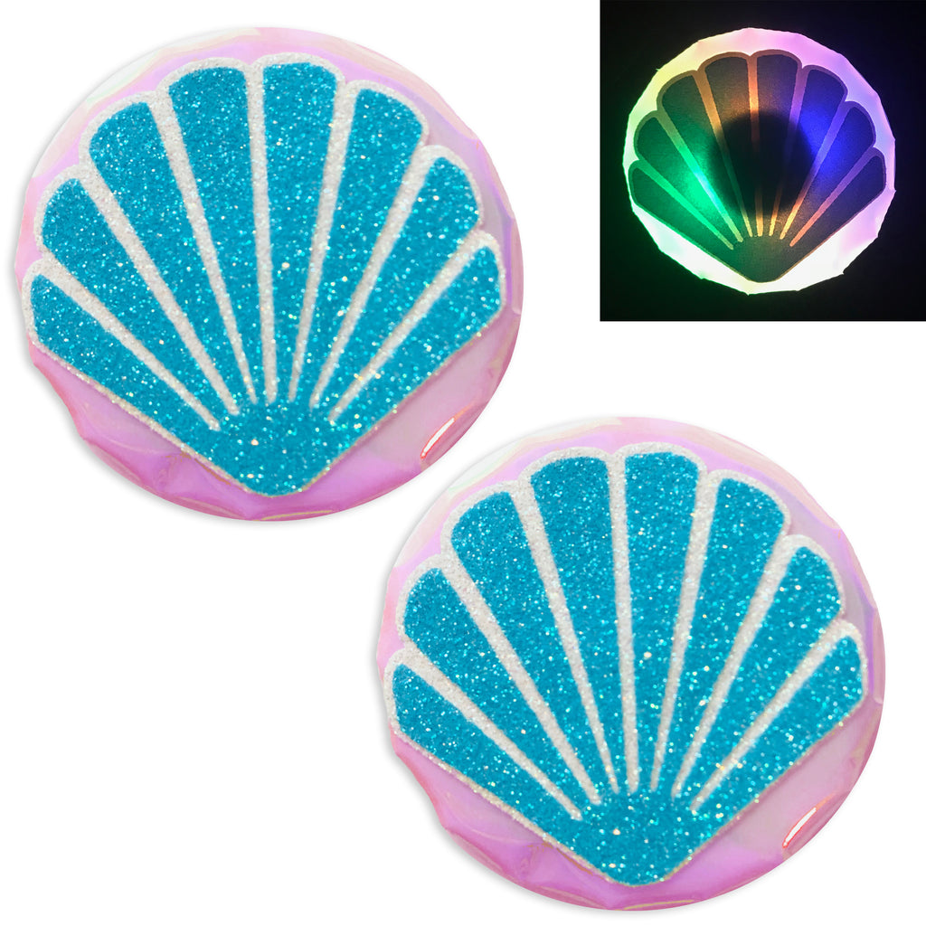 LED Nipple Pasties-Seashell Clickers by Sasswear - Sasswear
