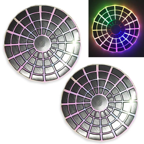 LED Nipple Pasties- Silver Clickers by Sasswear - Sasswear