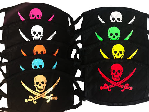 Face Mask | Pirate Skull