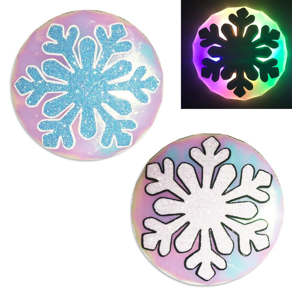 snowflake light up nipple cover pasties by sasswear