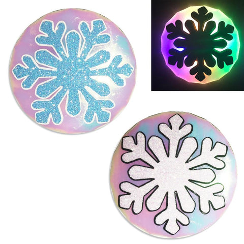 LED Nipple Pasties-Snowflake Clickers by Sasswear - Sasswear