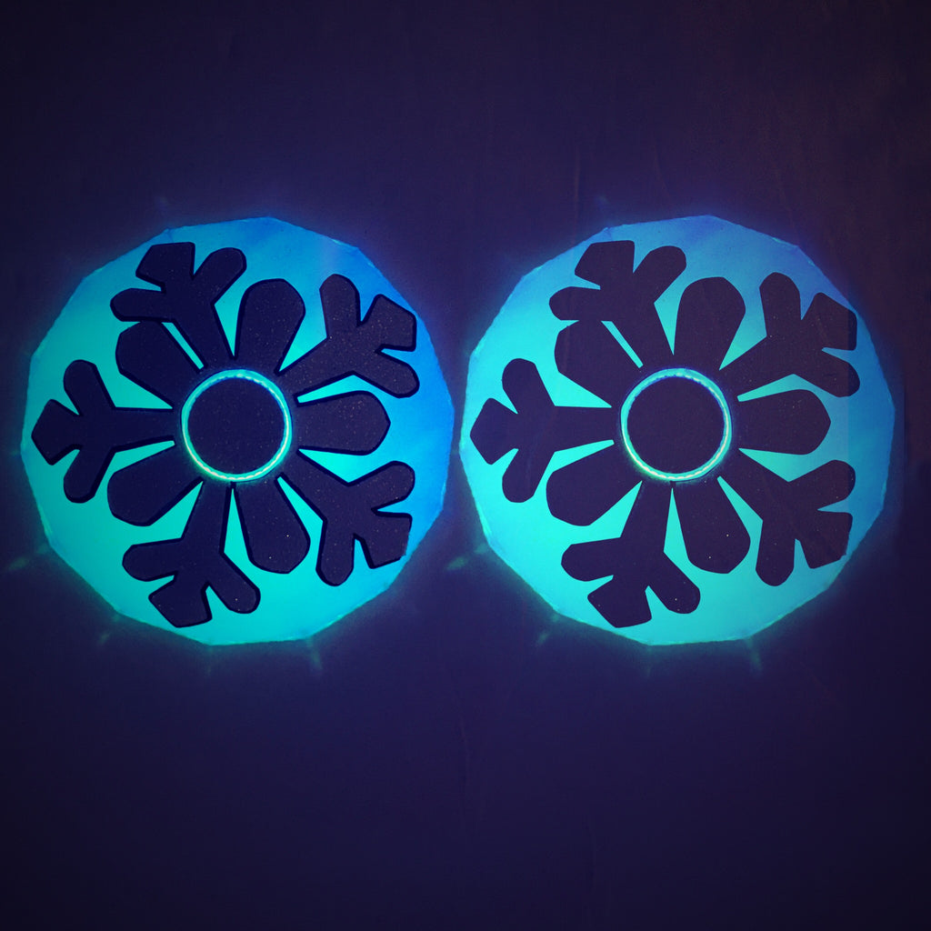 Snowflake LED Light Up Pasties