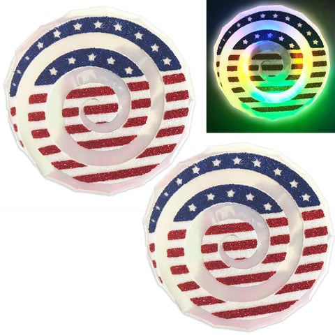 LED Nipple Pasties-July 4th Clickers by Sasswear