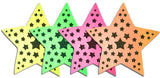 Neon Star Nipple Covers by Sasswear