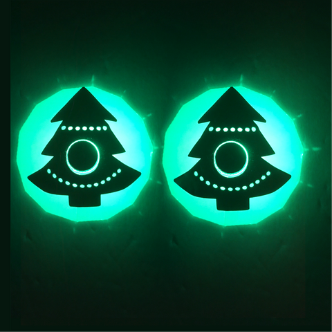 Christmas Tree LED Pasties - Sasswear
