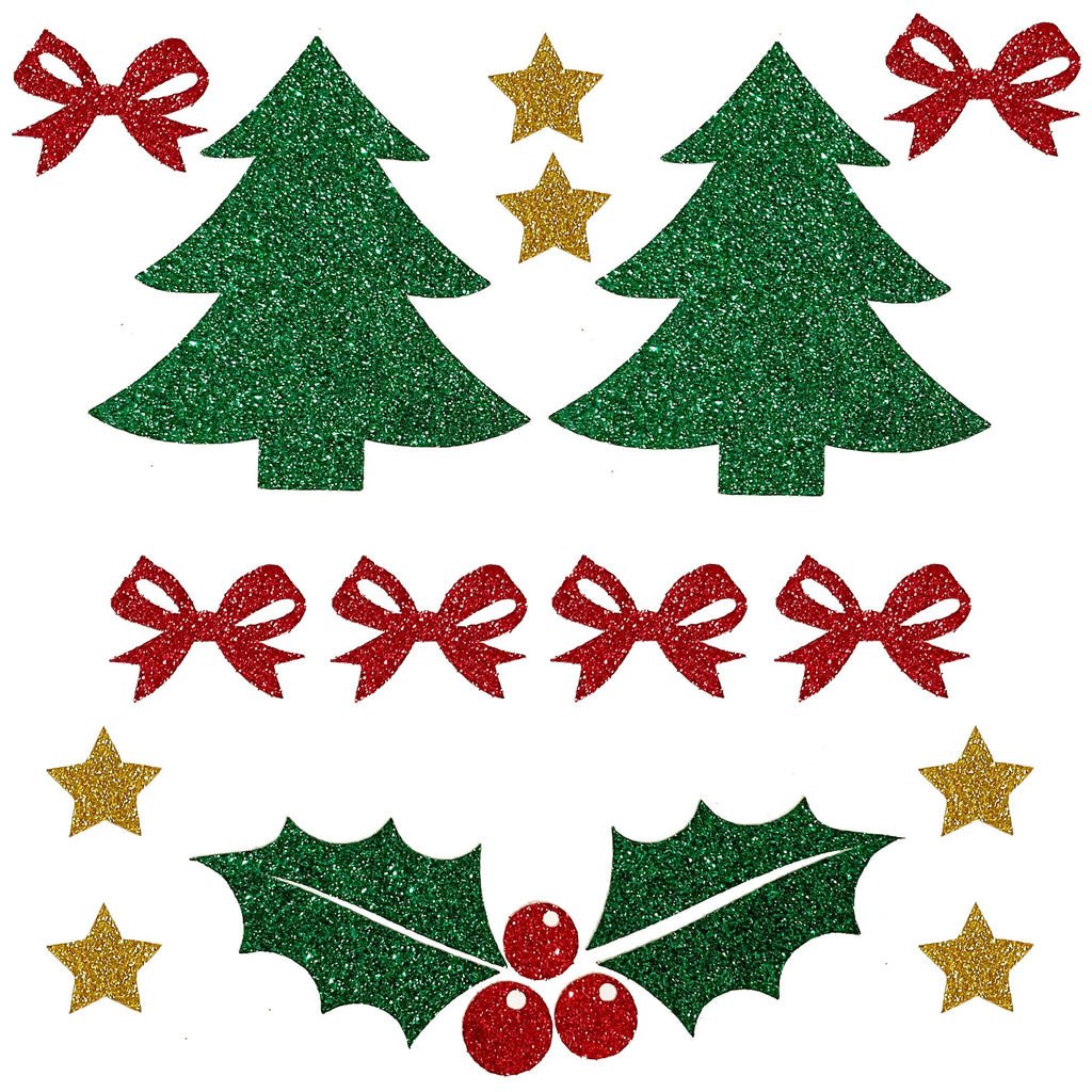 Christmas Holiday Pasties/Body Sticker Set