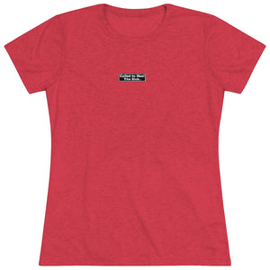 """Freedom"" Women's Triblend Tee"