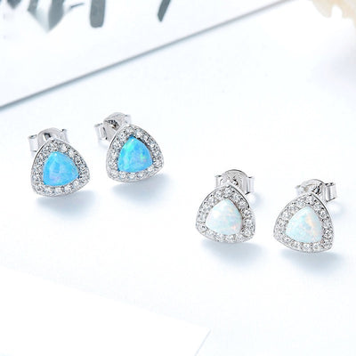 Under the Sea Gem Studs (Blue)