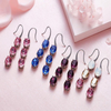 Euphoria Dangle Earring (Maroon)