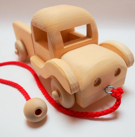 Wooden Pick Up Truck