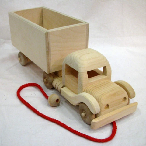 Wooden Transport Truck