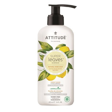 Attitude hand soap Lemon Leaves