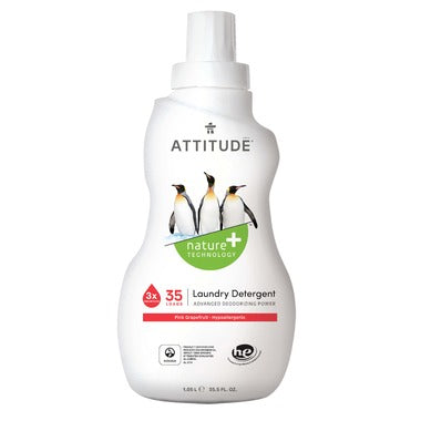 Attitude Laundry Detergent 3x Concentrated Pink Grapefruit
