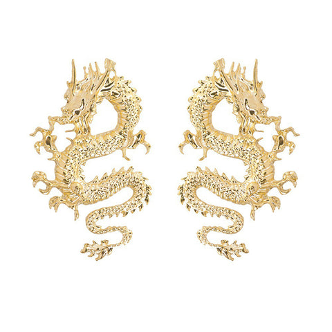 Dragon Statement Earrings