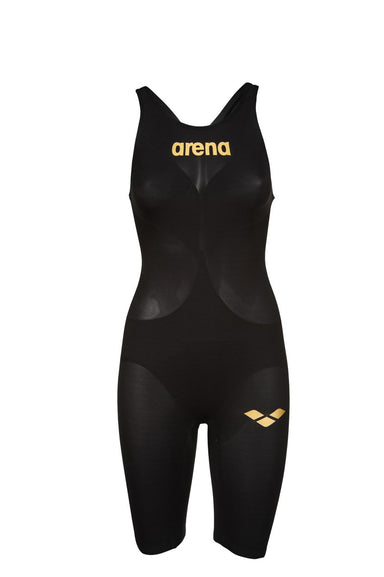 Carbon Air2 Powerskin Open back Zwart - Goud | Arena