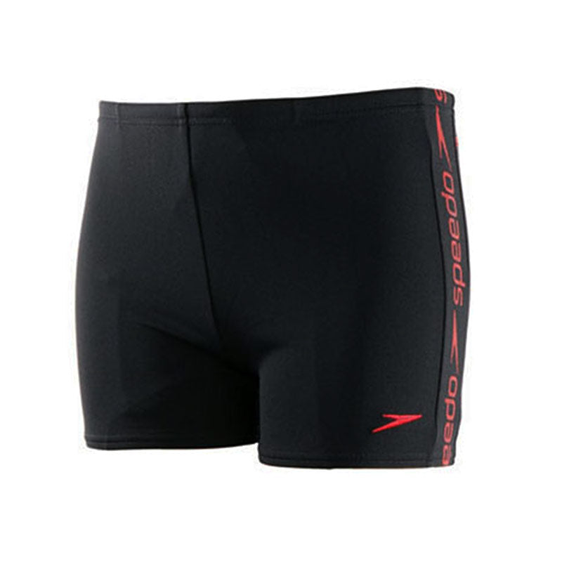 Speedo Superiority short Black/USA Red