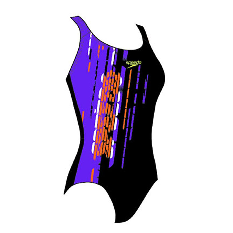 Speedo AquaDive Placement jr. Black/Purple