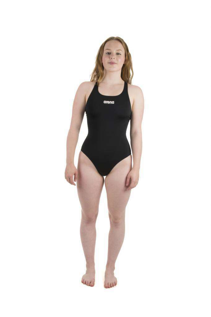W Solid Swim Pro black/white | Zwemmershop