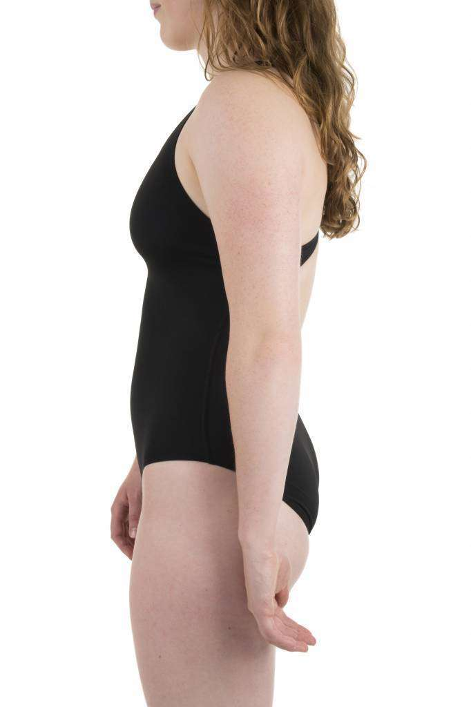 W Solid Swim Pro black/white | Zwemmershop (5354100523171)