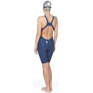 Dames Powerskin St. 2.0 Open back Navy | Zwemmershop