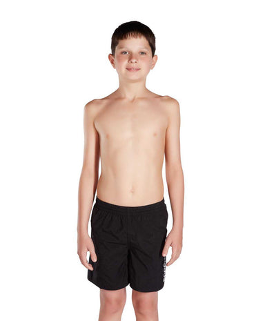 "Boys short Challenge 15"" Zwart - Wit 