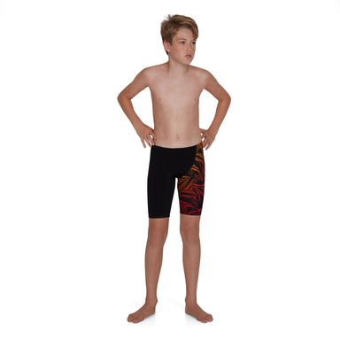 Junglelizzard Digital Placement V-Cut Jammer | Speedo