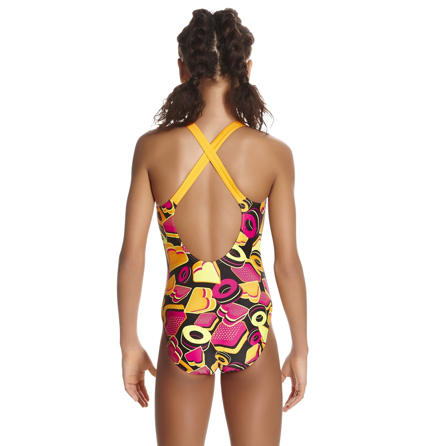 Speedo Ignition Pop Black/ jaffa/ pink