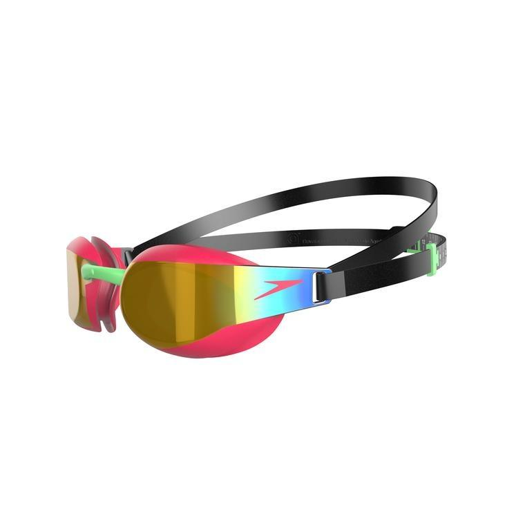 Junior Fastskin Elite Mirror Zwart Rood