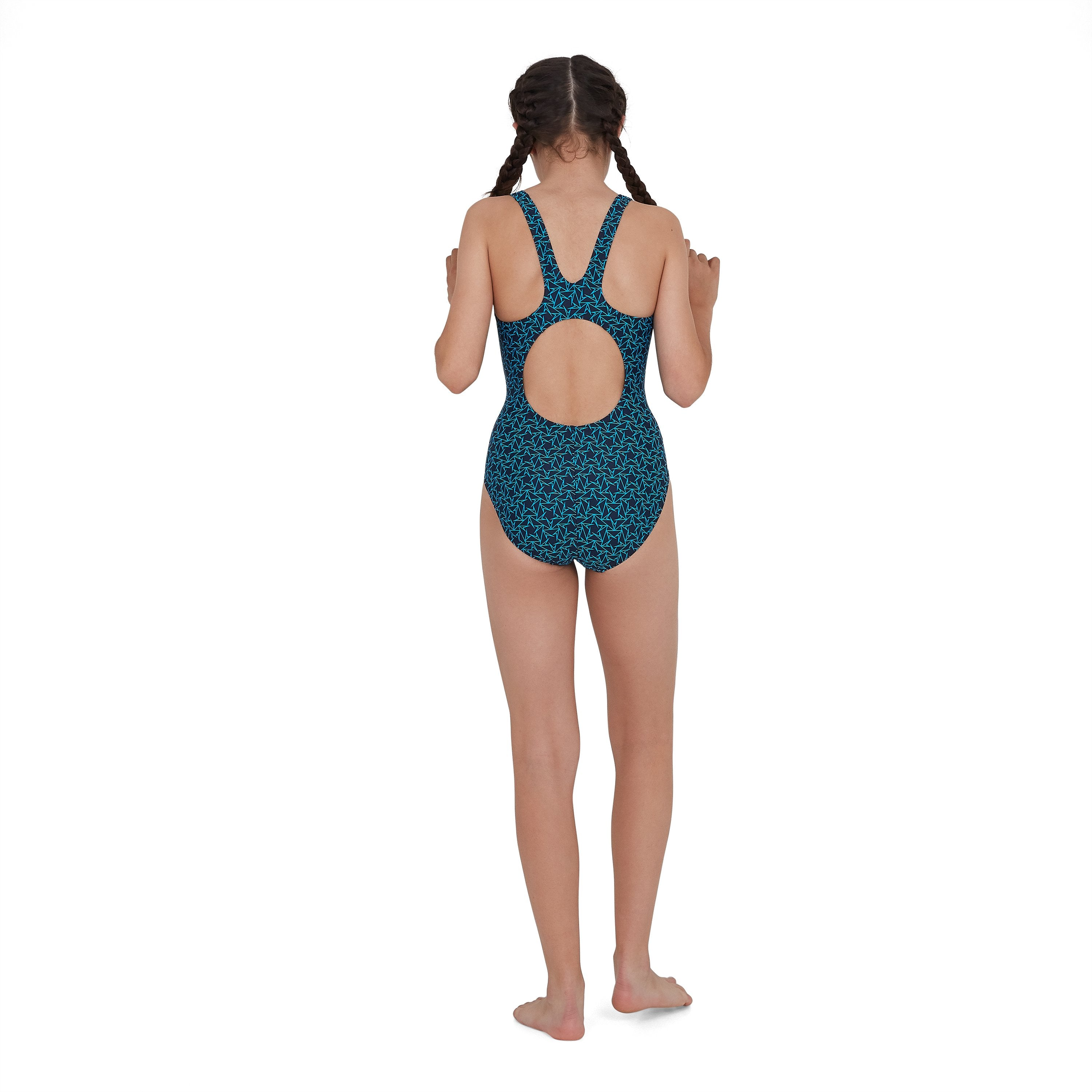 Boomstar Allover Muscleback Blauw | Speedo