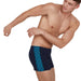 End Boomstar Splice Aquashort Blauw | Speedo