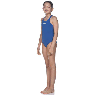 G Solid Swim Pro Junior Royal - Wit | Zwemmershop