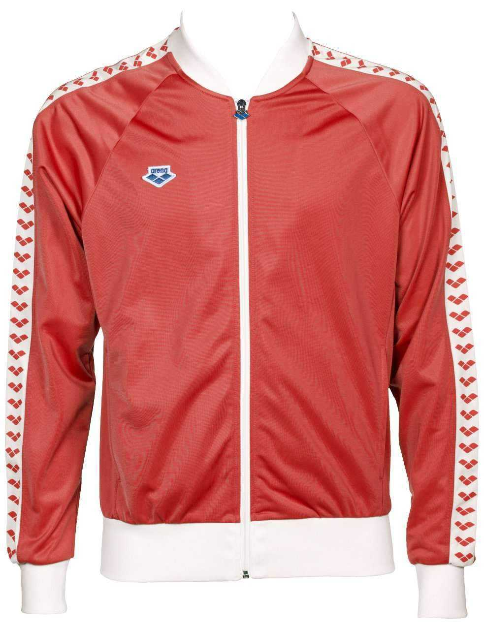Heren Relax Iv Team Jacket red-white-red | Zwemmershop