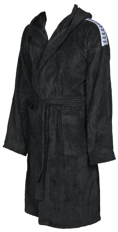 Arena Core Soft Robe black-white (6261023047867)