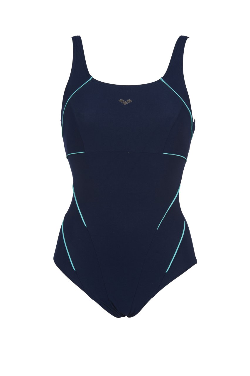 Jewel One Piece Low C Cup Blauw - Mint