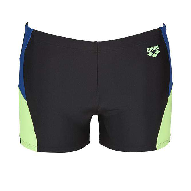 M Ren Short Zwart Royal Shiny Green | Zwemmershop