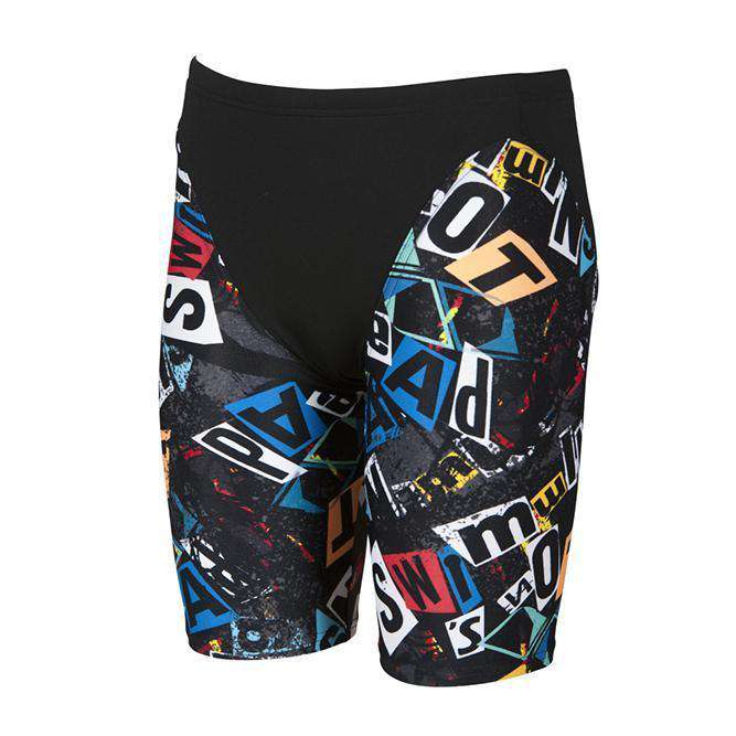 Boys Rowdy Jr Jammer black-multi | Zwemmershop