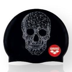 Print 2 Crazy Pop Skulls - Zwart/Wit