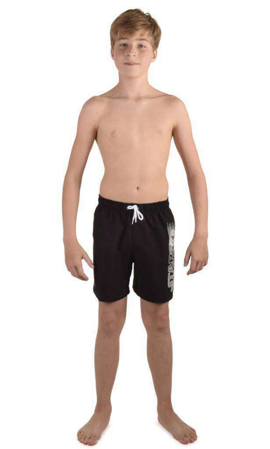 Boys Short Trooper Logo Graphic leisure Watershort | Zwemmershop
