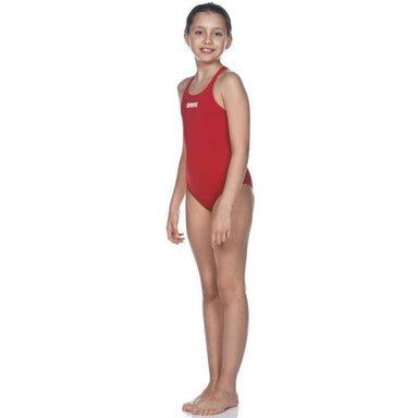 G Solid Swim Pro Junior Rood - Wit | Zwemmershop