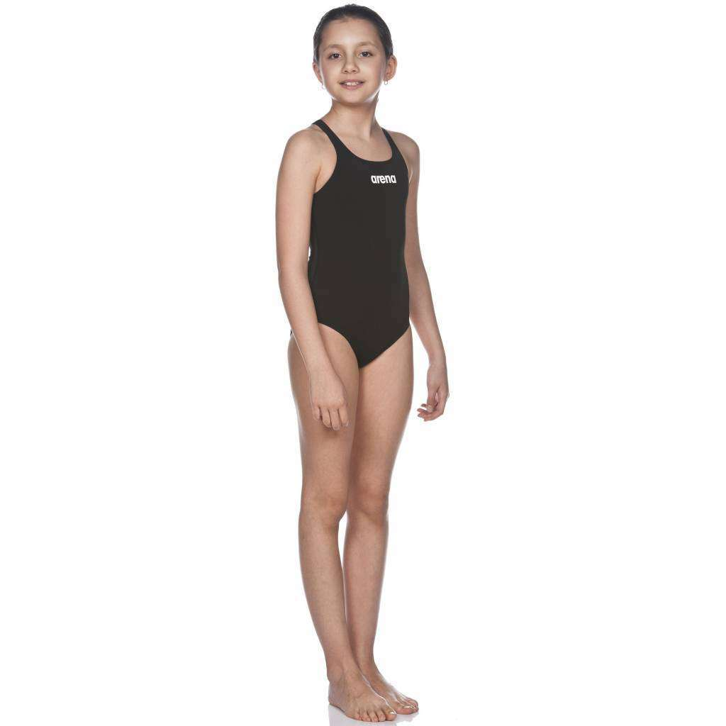 G Solid Swim Pro Junior Zwart - Wit | Zwemmershop (5354076799139)