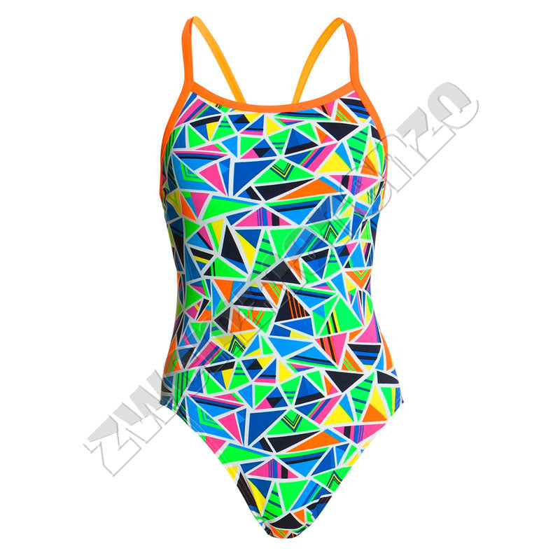 Funkita Ladies Single Strap Crazy Cracks