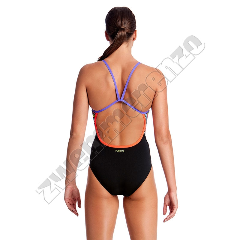 Funkita Ladies Single Strap Dripping