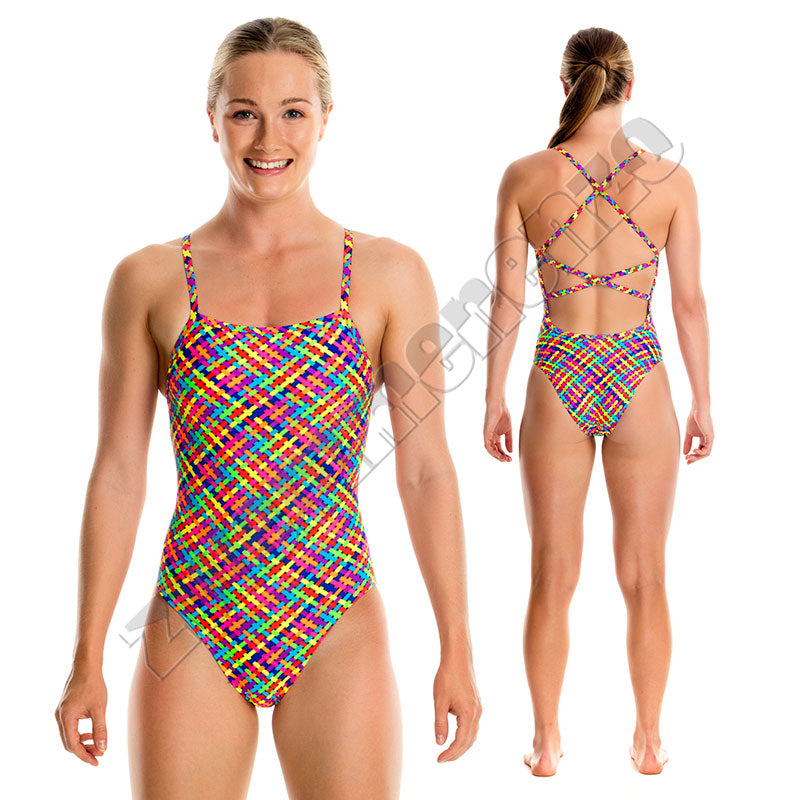 Funkita Girls Strapped in One Basket Case