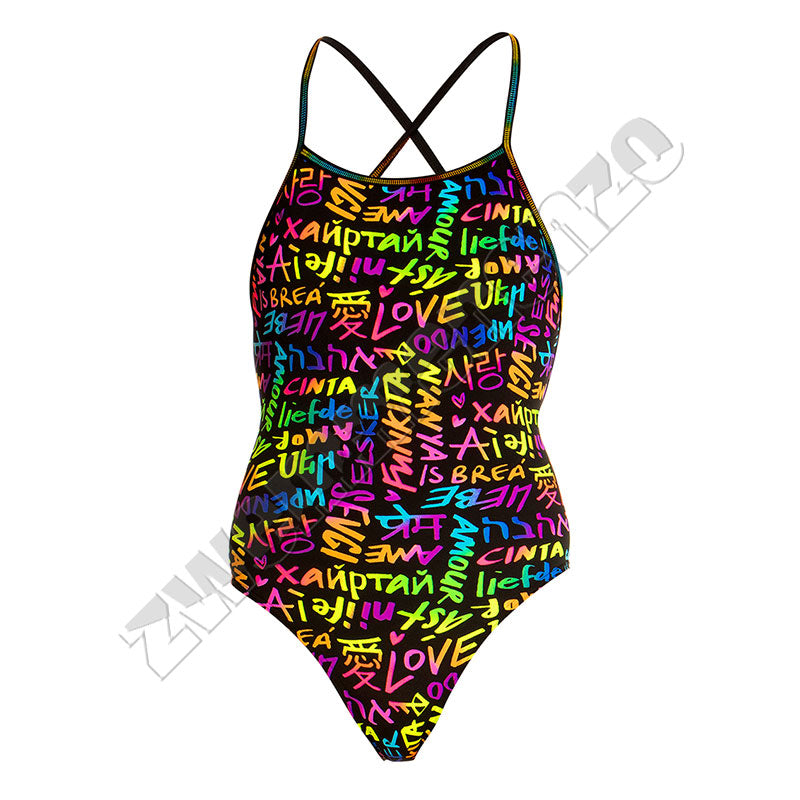 Funkita Girls Strapped in One Love Funkita