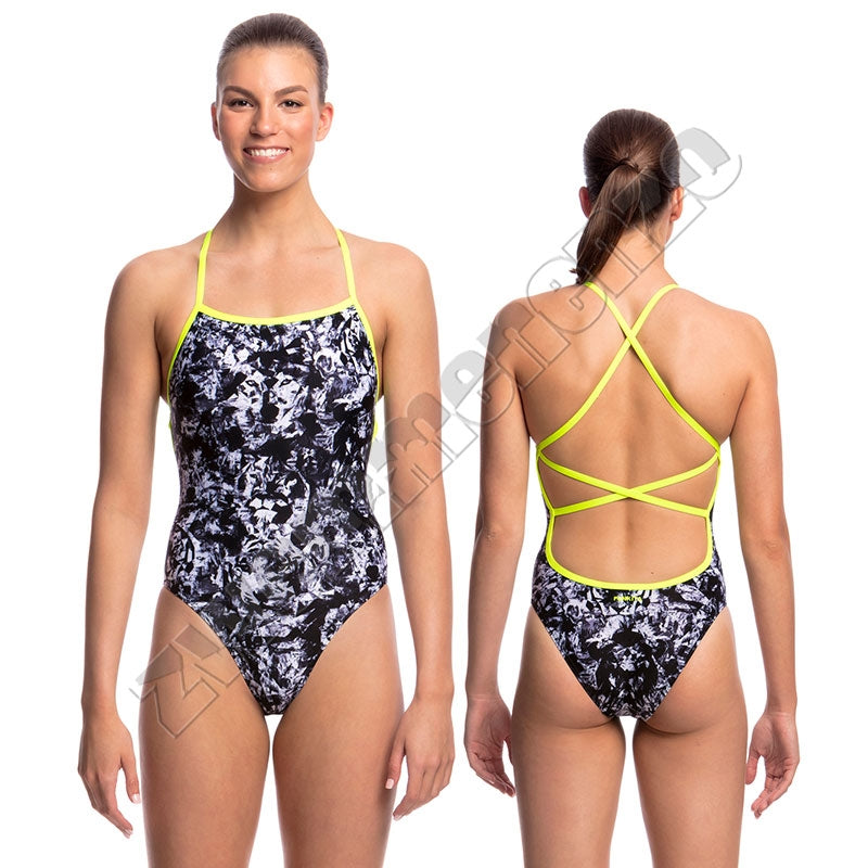 Funkita Ladies Strapped in One Midnight Assassin