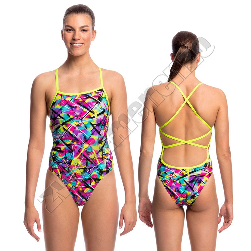 Funkita Ladies Strapped in One Spray On