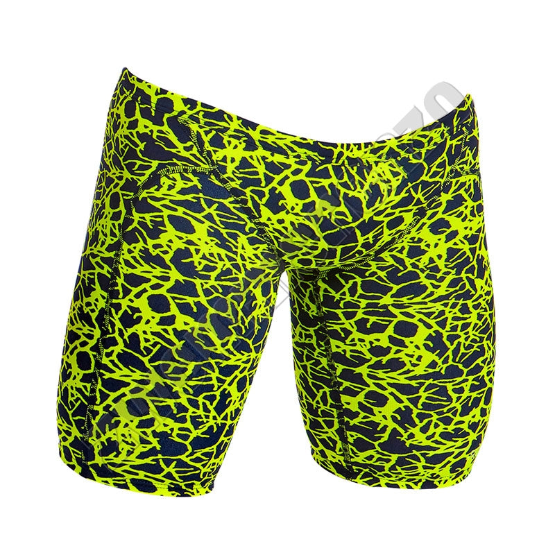 Funky Trunks Men Training Jammer Coral Gold