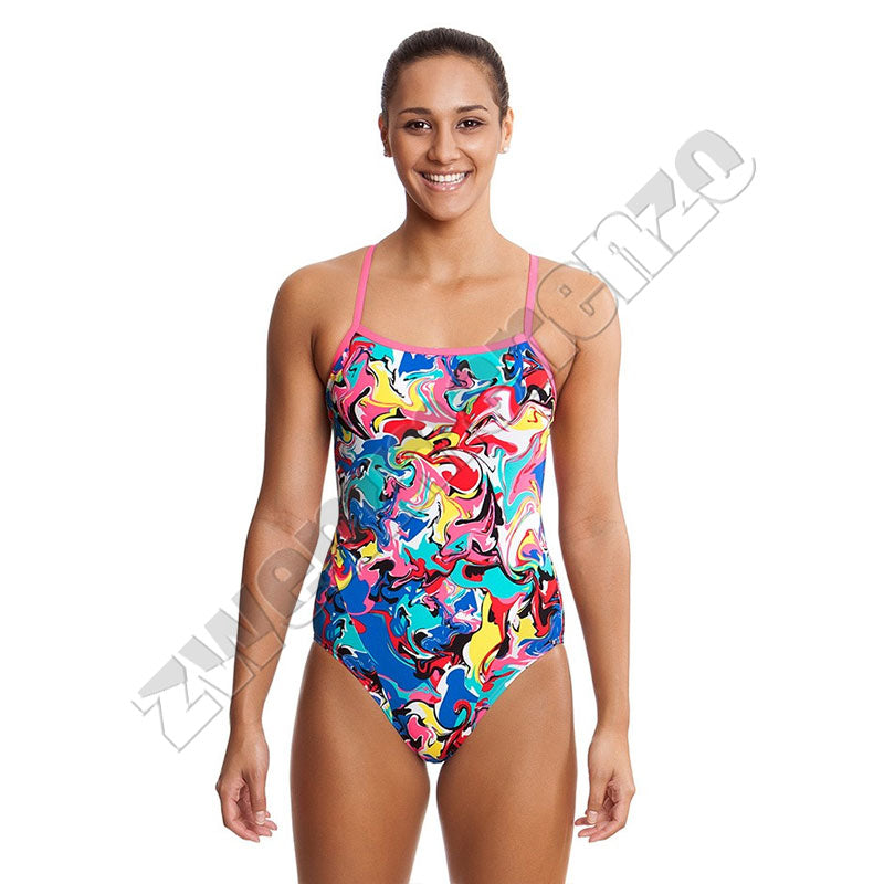 Funkita Ladies Single Strap Splatterfield